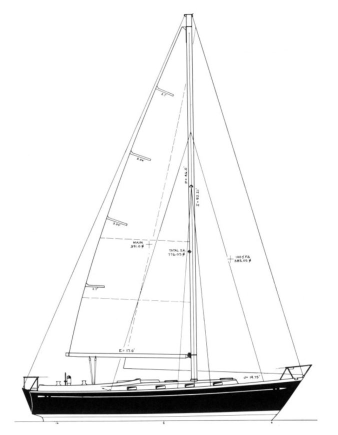 Fuji 40 - sailboat data.1