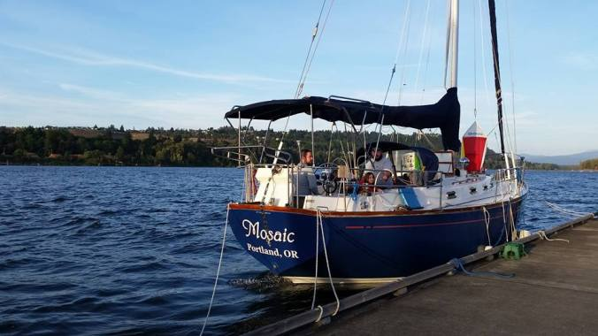 family sailing and cruising Columbia River | Mosaic Voyage