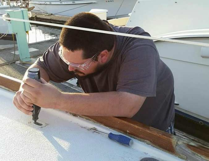 Mosaic Voyage - boat projects preparing to cruise