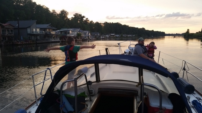 Family of Four Prepping to Cruise on our Sailboat