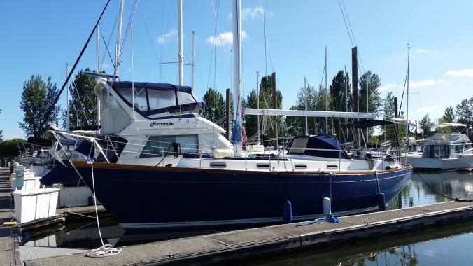Family Preparing Sailboat for Longterm Cruising