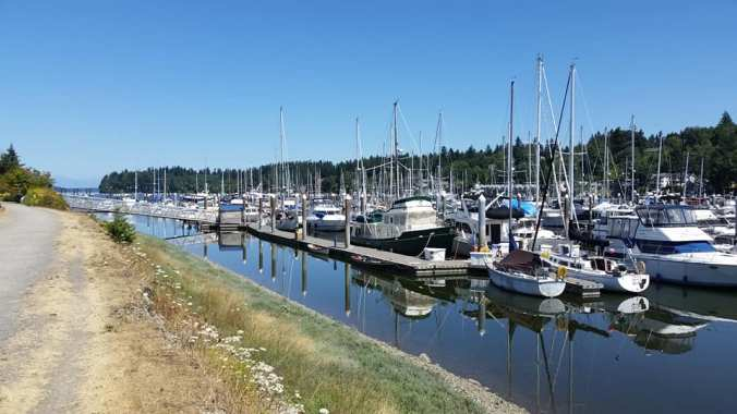 Swantown Marina - our first choice for living aboard this winter in Olympia
