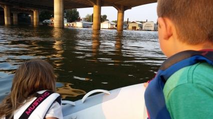Family Dinghy Adventure Portland Harbor Oregon