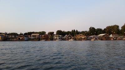 Family's Portland Harbor Dinghy Adventure
