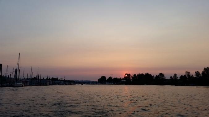Family Portland Harbor Dinghy Adventure