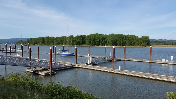 St. Helens Oregon public docks - cruiser's review May 2019