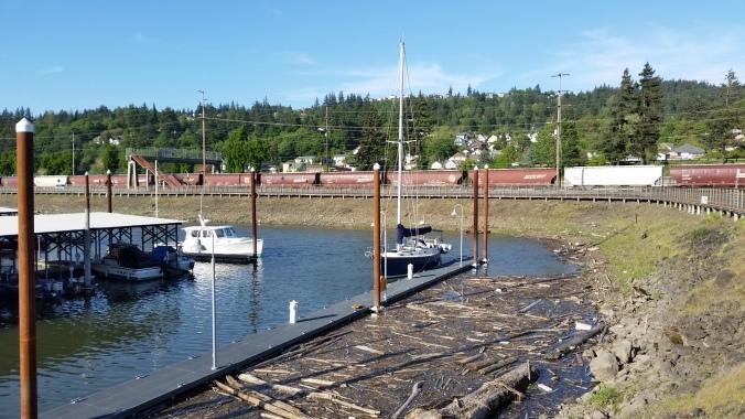 Kalama WA Guest Dock
