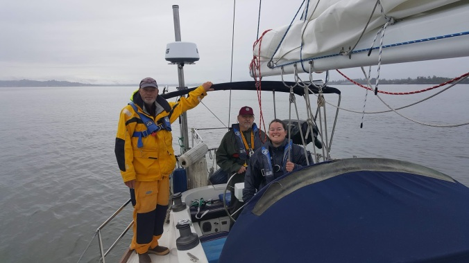 Sailboat passage north from astoria to port townsend may 2019