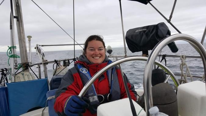 Sailing the Strait of Juan de Fuca