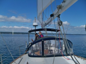 Sailing the Puget Sound - August 2019