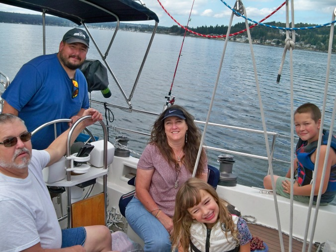 Family Sailing - Cruising the Puget Sound