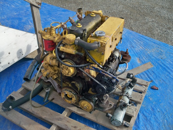 Pisces 40 sailboat marine diesel replacement
