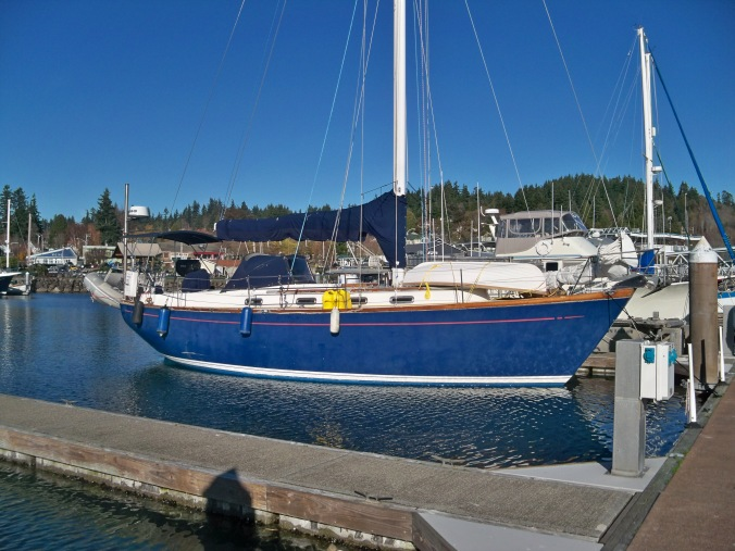 Mosaic Voyage visiting the Port of Kingston Marina for a night in November