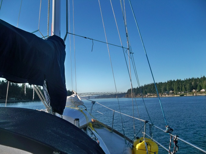 Mosaic Voyage's trip from Kingston to Poulsbo for winter moorage