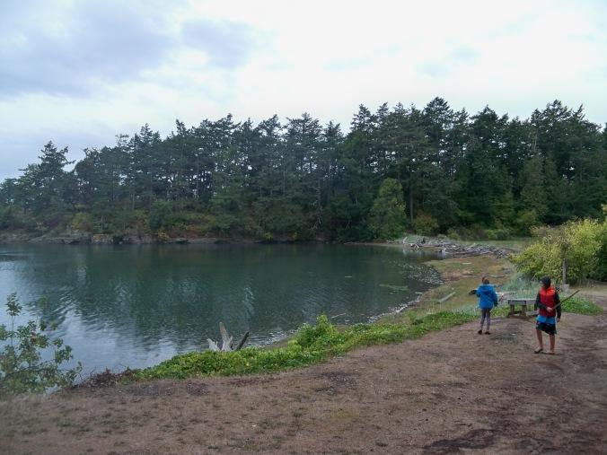 Fossil Bay on Sucia Island