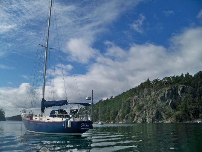 Deer Harbor Orcas Island Anchorage Review September and October 2019