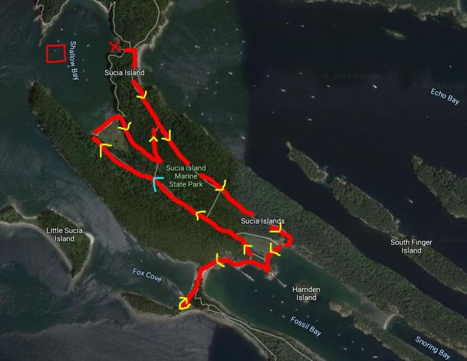 Shallow Bay to Fossil Bay and Fox Cove hike